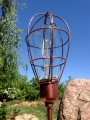 Lampa solarna LED - Steampunk