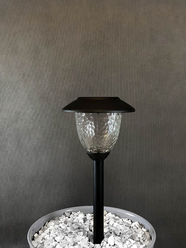 Lampa Solarna Led Czarna L22104 Colebright
